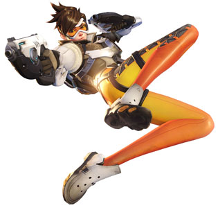 Overwatch Personajes - Tracer
