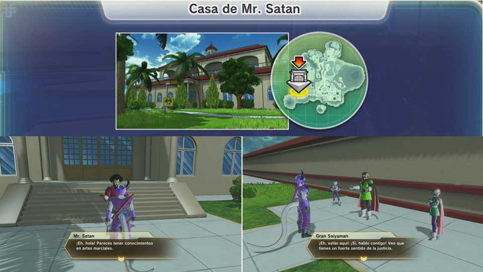 Dragon Ball Xenoverse 2 - Casa de Mr. Satán