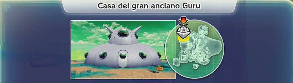 Dragon Ball Xenoverse 2 - Casa anciano gran Guru