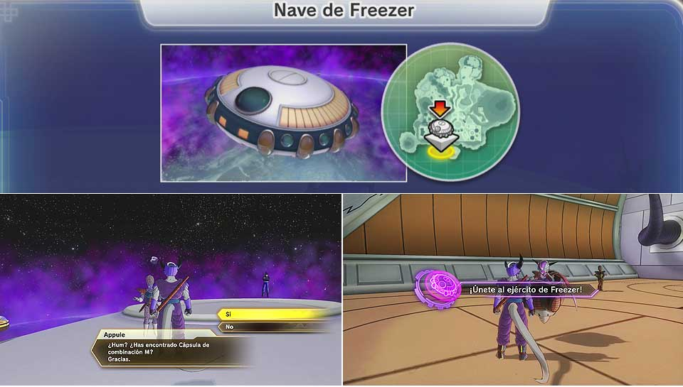 Dragon Ball Xenoverse 2 - Nave de Freezer