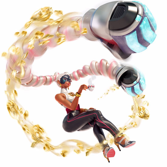 Arms Luchador Twintelle