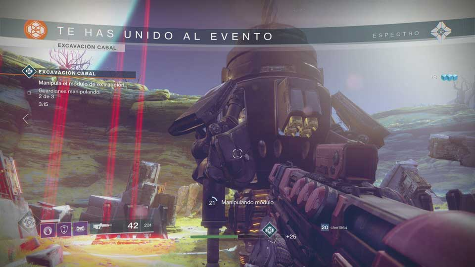 Destiny 2 - Evento Excavación Cabal