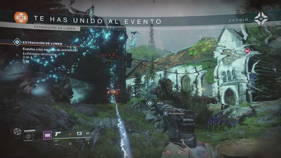 Destiny 2 - Evento Extracción de Lumen