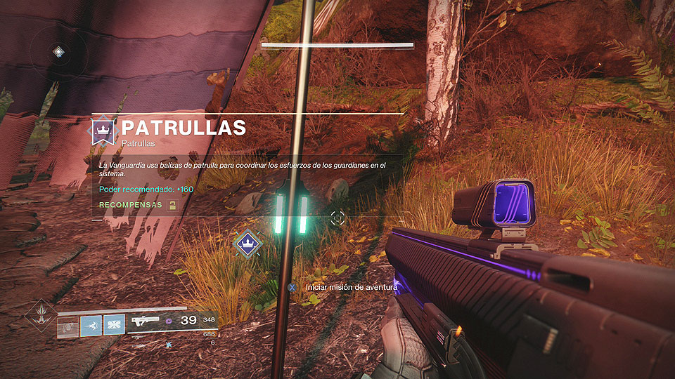 Destiny 2 - Patrullas