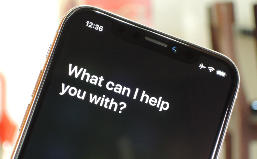 Acceder a Siri en iPhone X