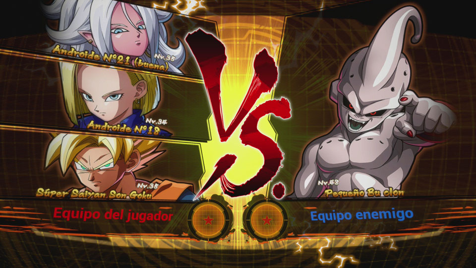 Combate contra Pequeño Bu - Dragon Ball FighterZ