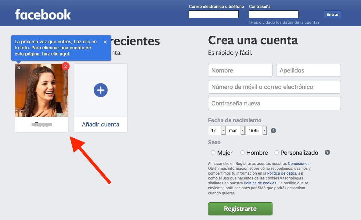 Facebook Cómo Entrar Directo Sin Introducir La Contraseña Trucos Com